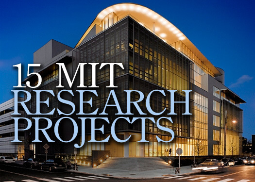 Fascinating Engineering Projects from MIT